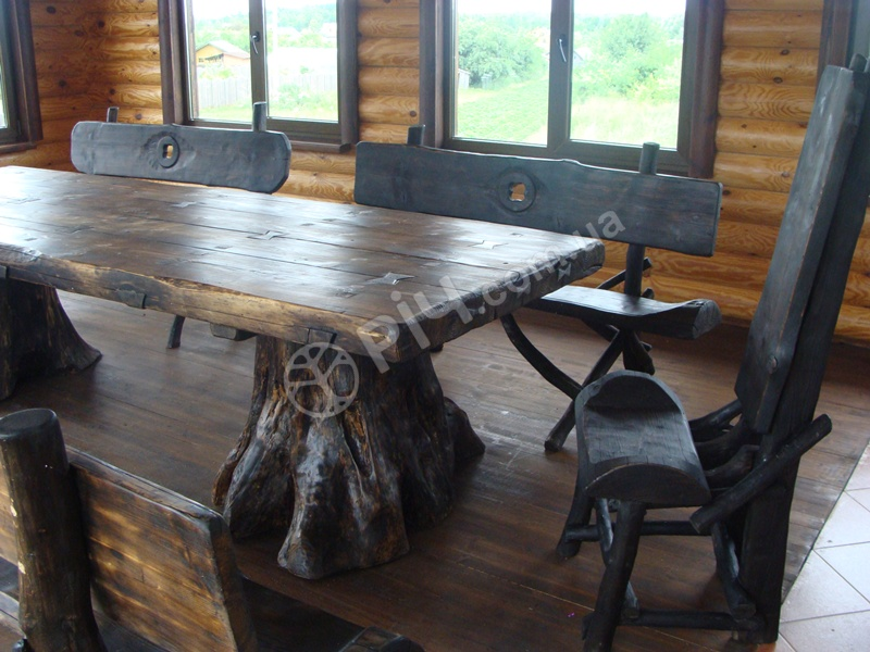 Старая деревянная мебель своими руками