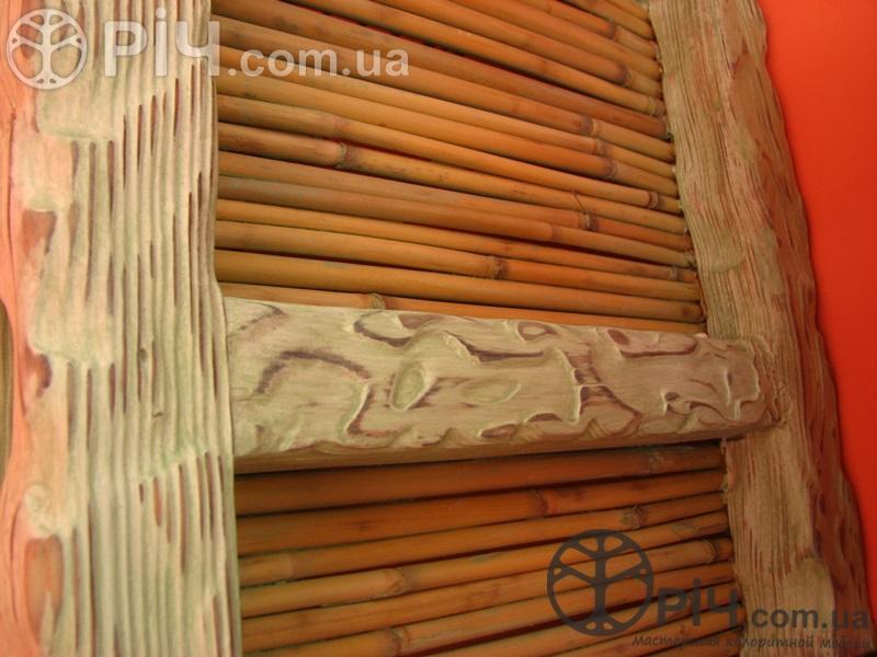 Меблі в стилі кантрі з дерева.
