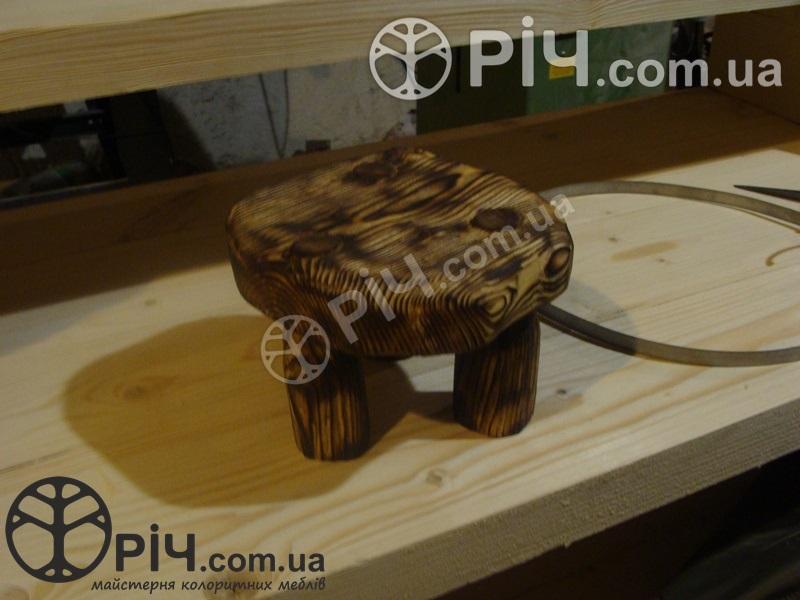 Стільчик дерев'яний №5. Екомеблі з дерева для дітей.