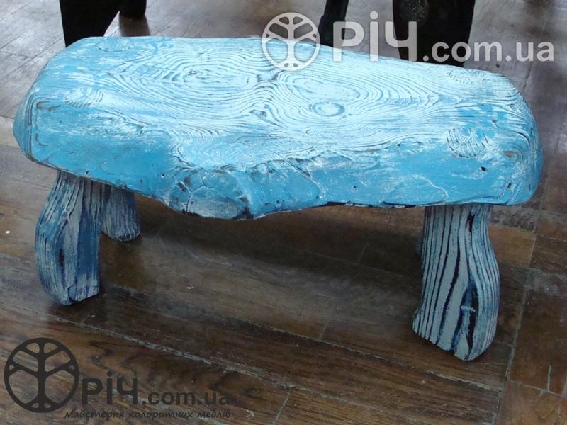 Ослінчик дерев'яний №4. Екомеблі з дерева для дітей.